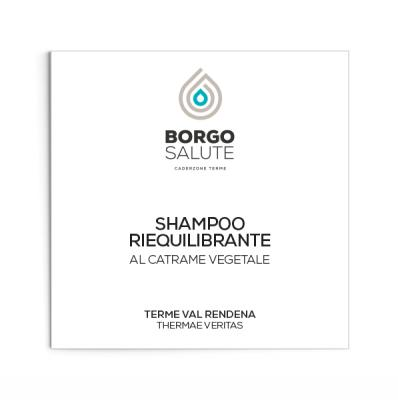 Shampoo riequilibrante al catrame vegetale